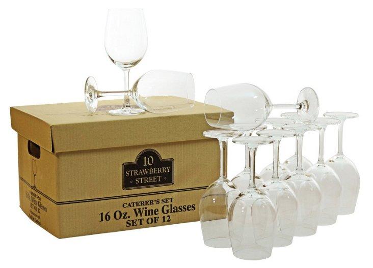 S/12 Classic Wineglasses