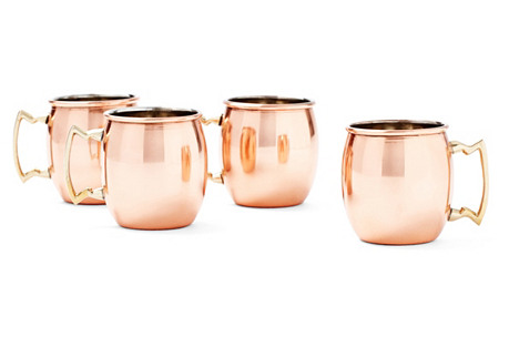 S/4 Moscow Mules, Copper
