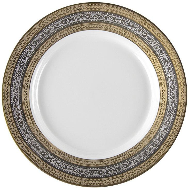 S/6 Porcelain Elegance Bread Plates