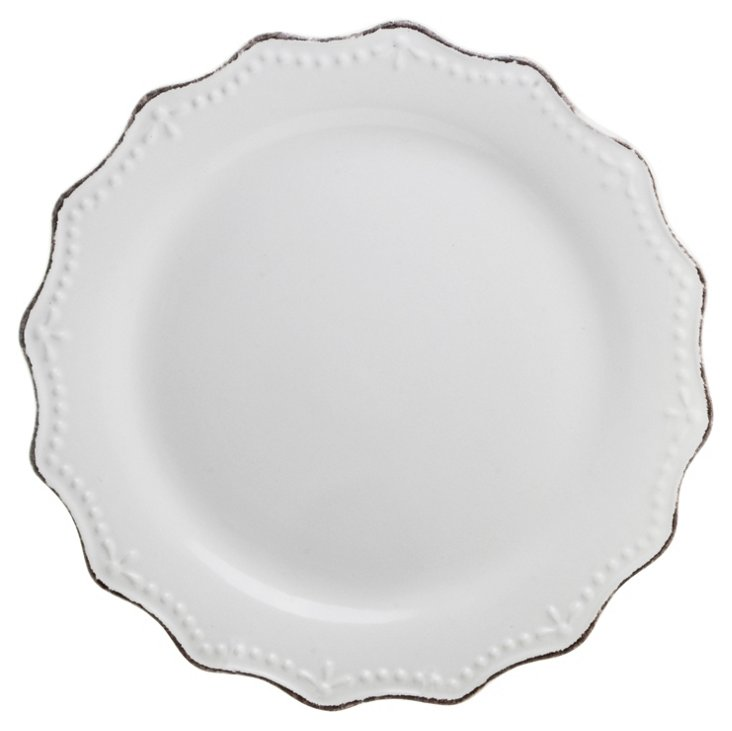 S/6 Oxford Dinner Plates, 11""