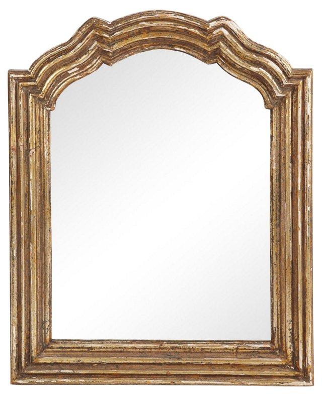1940s Gilt-Framed Mirror
