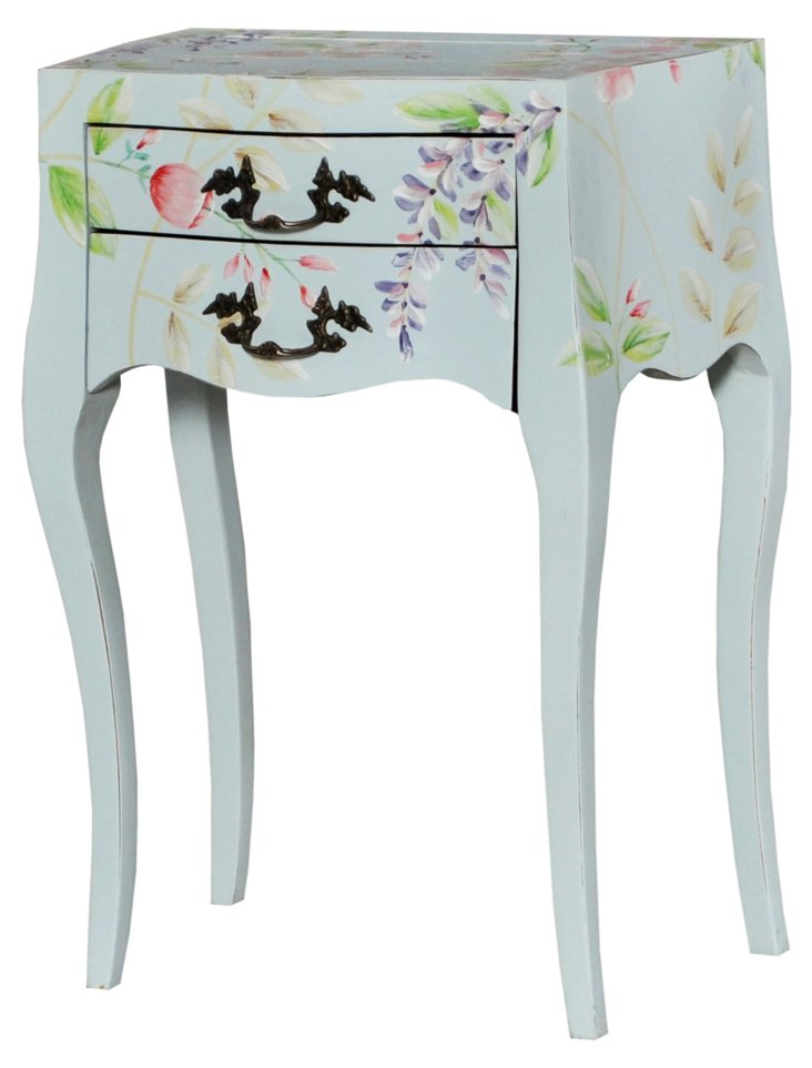Riveria Side Table, Light Gray