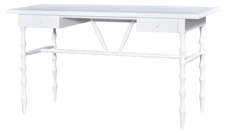 Horn Desk, White