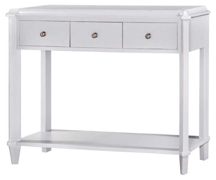 Knowle Console Table, Light Gray