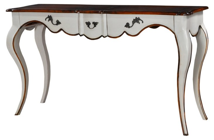Cannes Console Table, Taupe