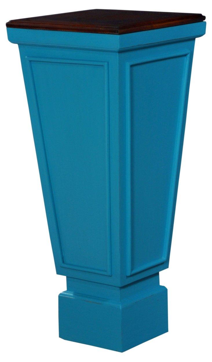 Clinton Pedestal, Marine Blue