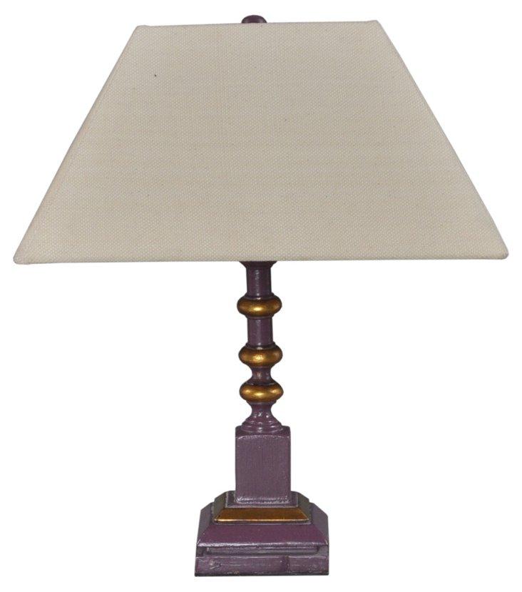 Hambalt Lamp, Distressed Purple