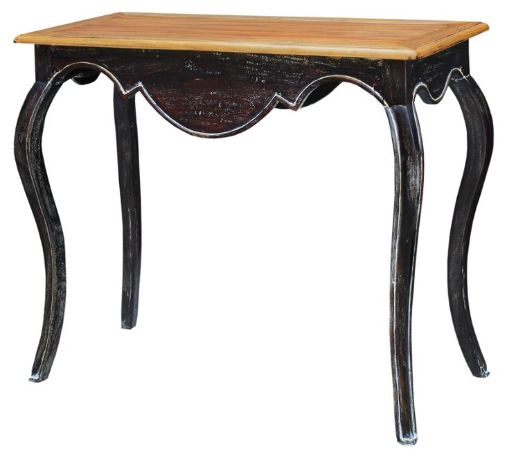 Cassidy Console Table, Black