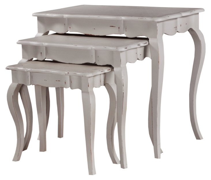 HOLD Taupe Callone Nesting Tables