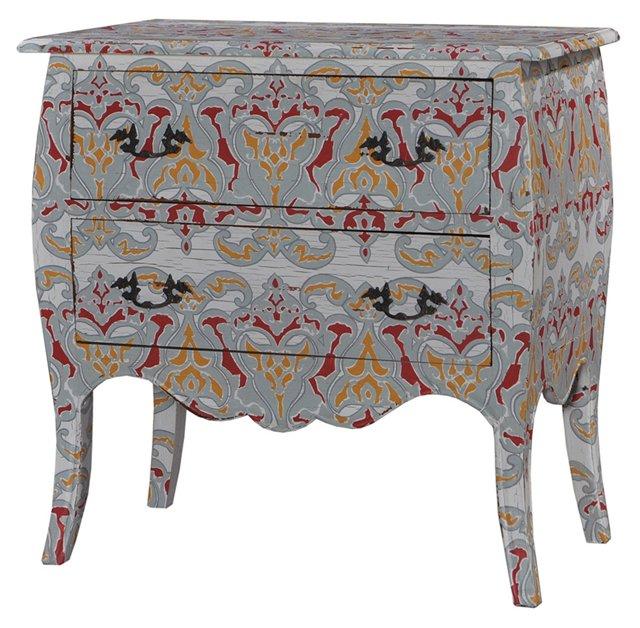 Pencey Dresser, Gray/Multi