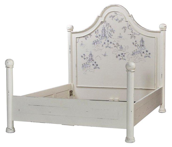 Avery Bed, Gray
