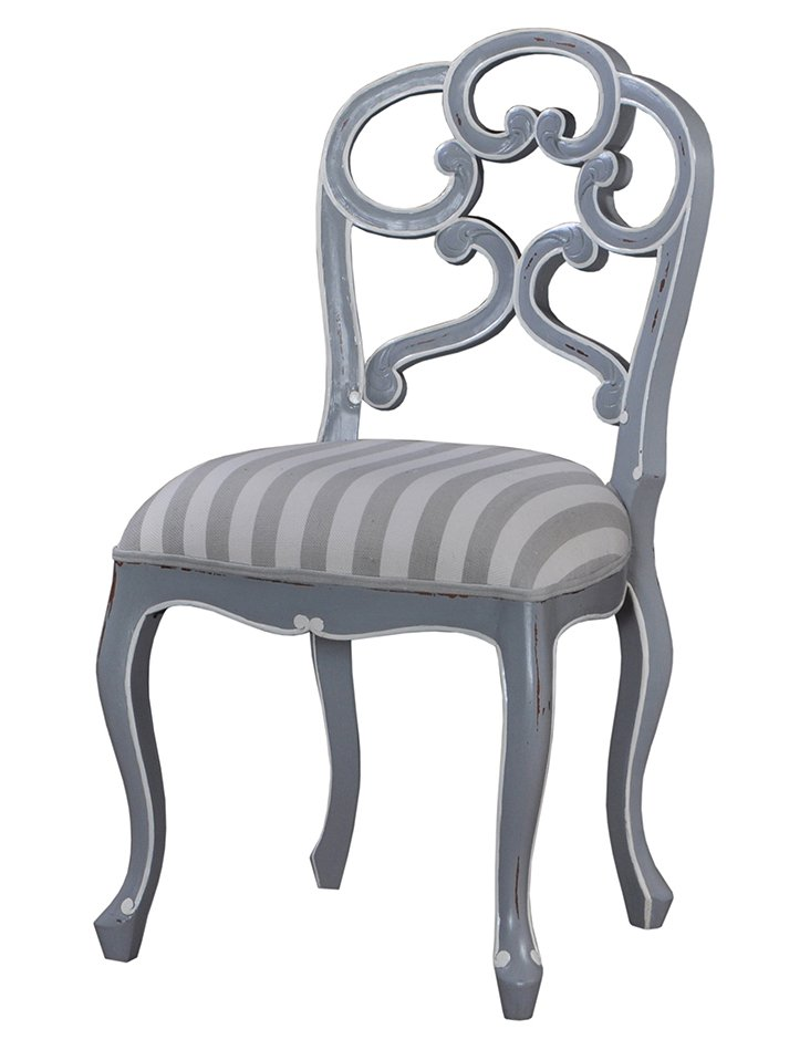 Beth Dining Chair, Gray