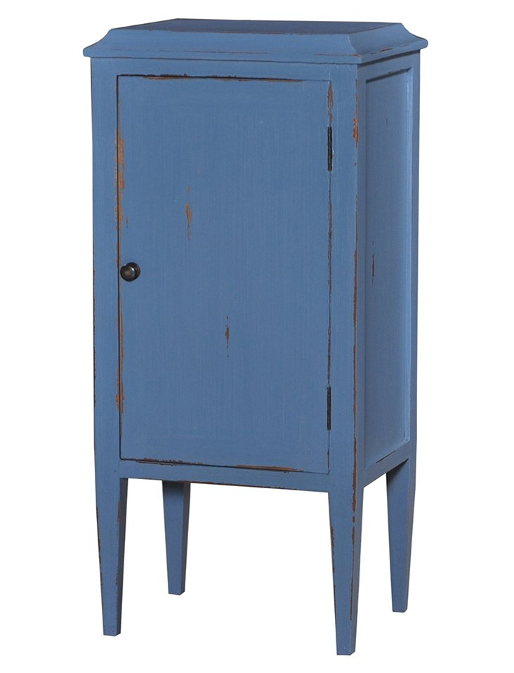 Nelson Small Cabinet, Blue
