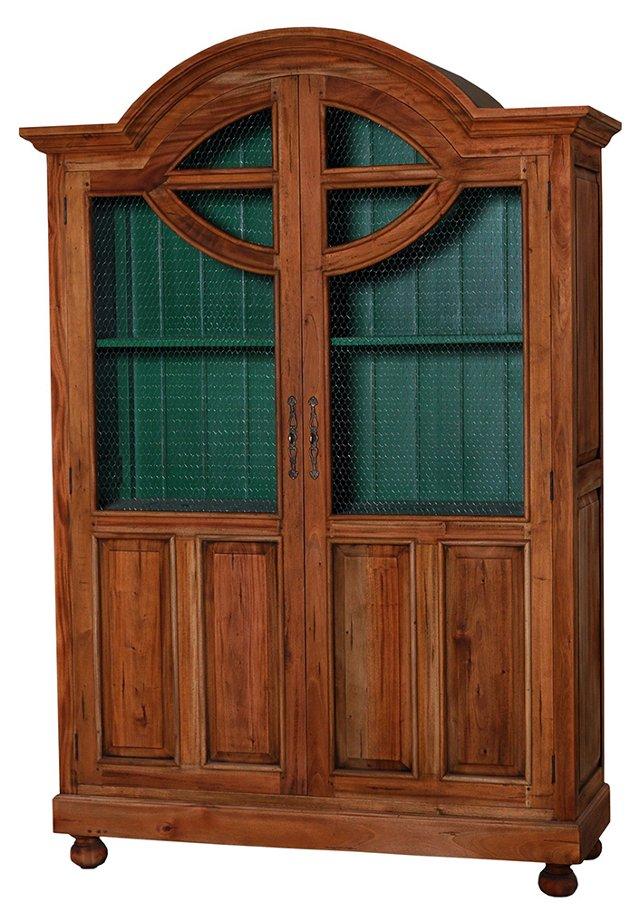 Dennison Display Cabinet, Natural