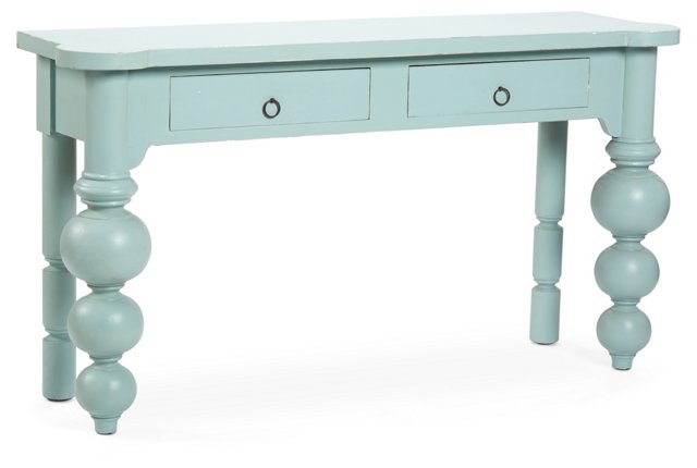 Betsy Console, Light Blue