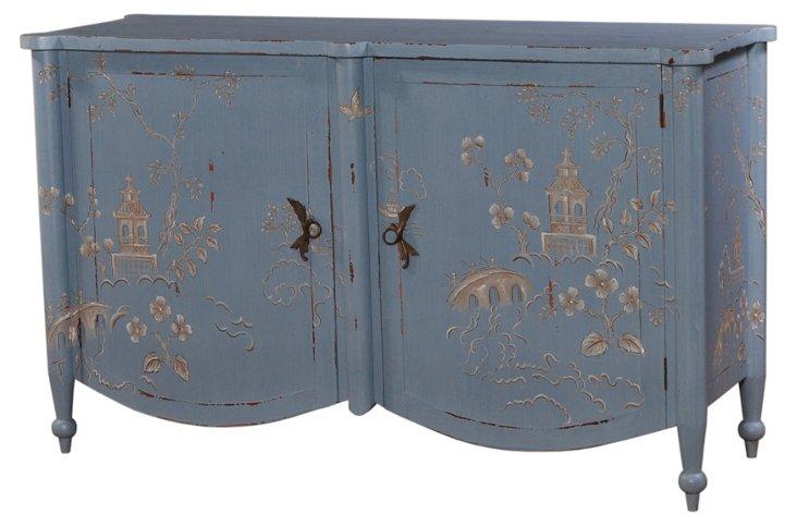 Chelsea Sideboard, Blue/Gray