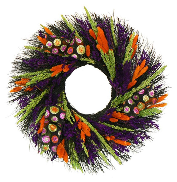 """22"""" Witch Spell  Wreath"""