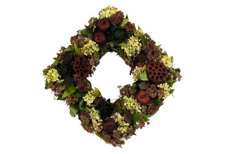 "17"" Harvest Delight Wreath"