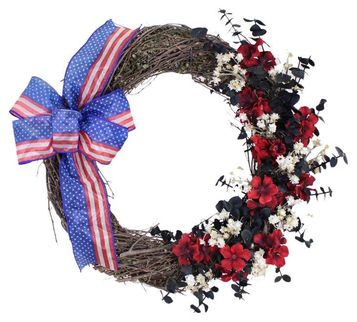 """18"""" United Patriot Wreath"""
