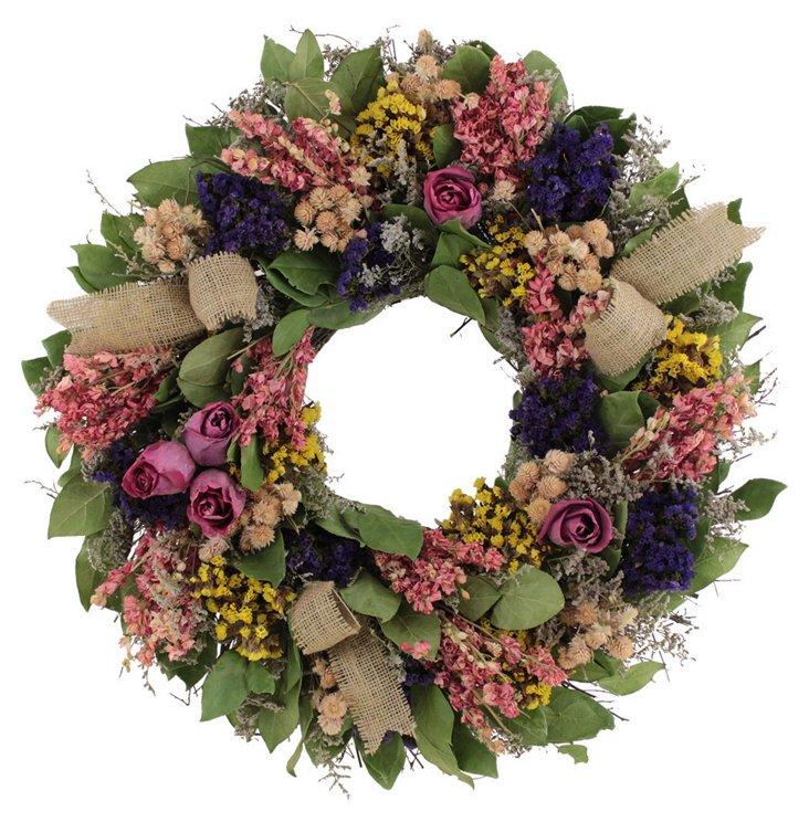 22'' Valentina Wreath, Dried