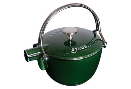 1 Qt Teapot/Kettle, Basil
