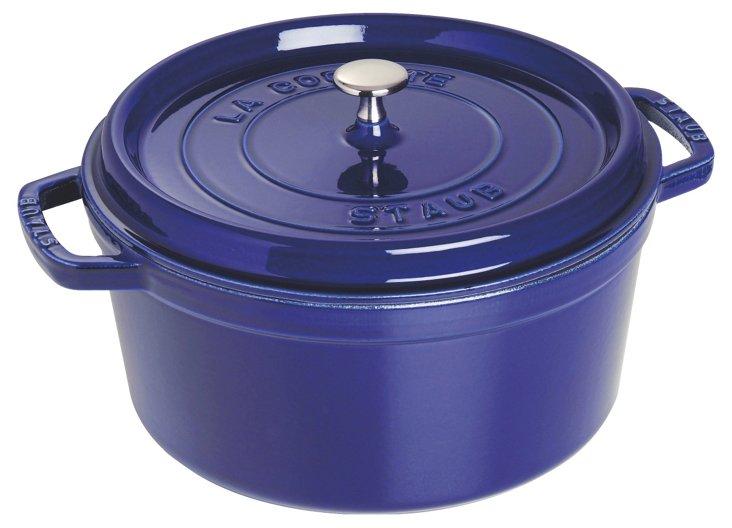 Round Cocotte, 13.25QT, Dark Blue