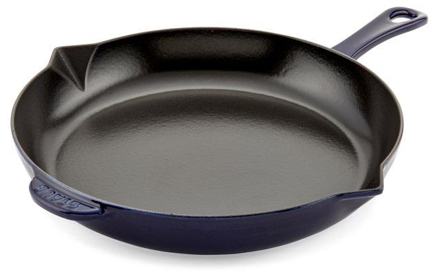 Fry Pan, Dark Blue