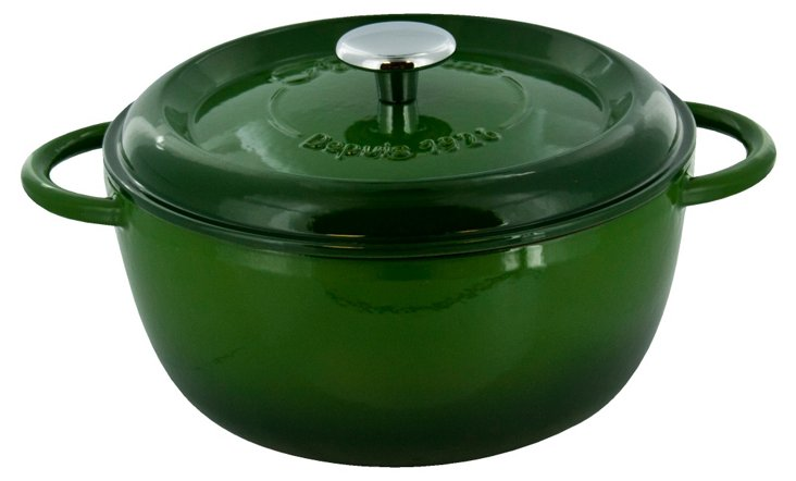 6.5 Qt Round Oven, Green