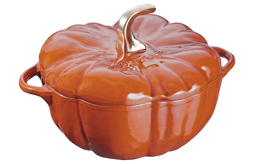 3.5qt Pumpkin Cocotte - Burnt Orange - Staub