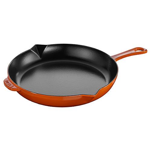 """12"""" Fry Pan, Orange"""