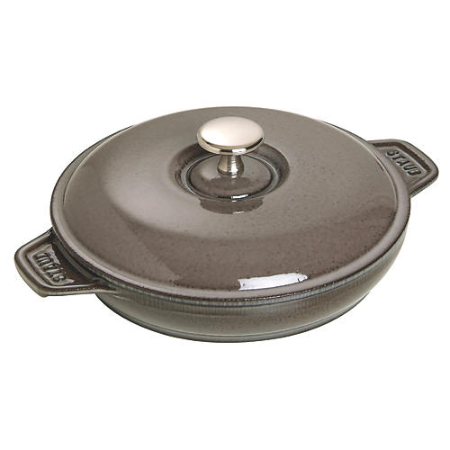 .75-Qt Covered Baking Dish, Graphite