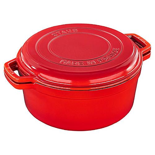 7-Qt Braise & Grill, Cherry