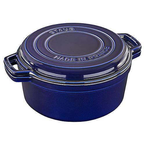 7-Qt Braise & Grill, Dark Blue