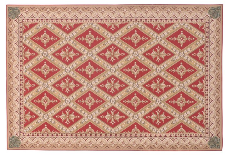 6' x 9' Blaire Rug, Red/Multi