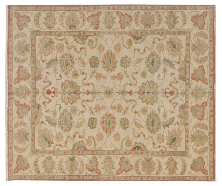 8' x 10' Janae Rug, Wheat/Multi