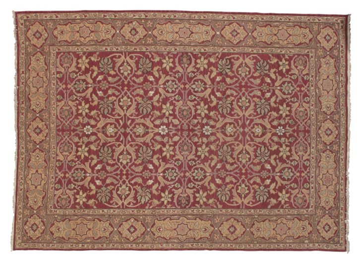 10' x 14' Aase Rug, Red/Gold