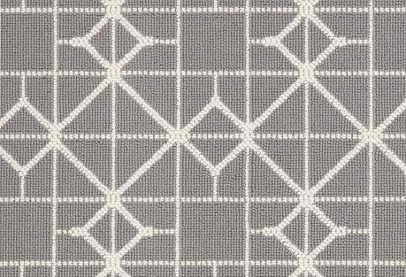 Beeka Rug, White/Gray