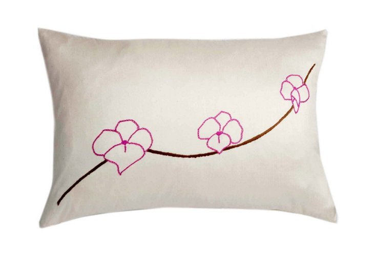 Orchid 12x18 Pillow, Pink