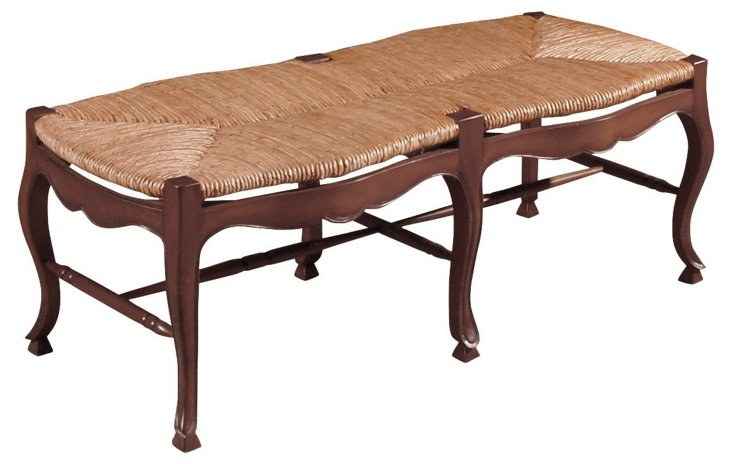"""Parker 49"""" Bench, Coffee"""