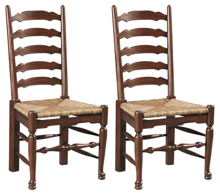 Lana Side Chairs, Pair