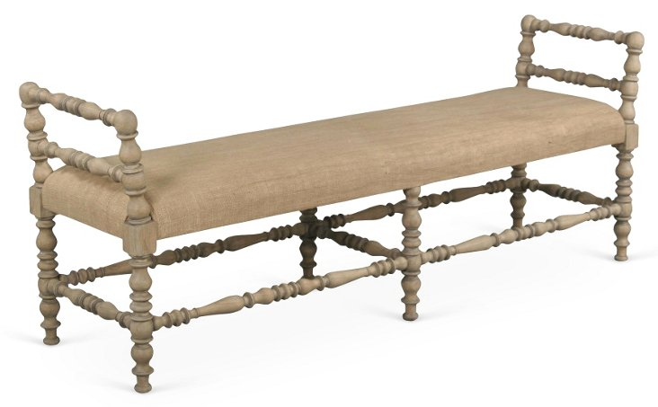 Anna Spindle Bench