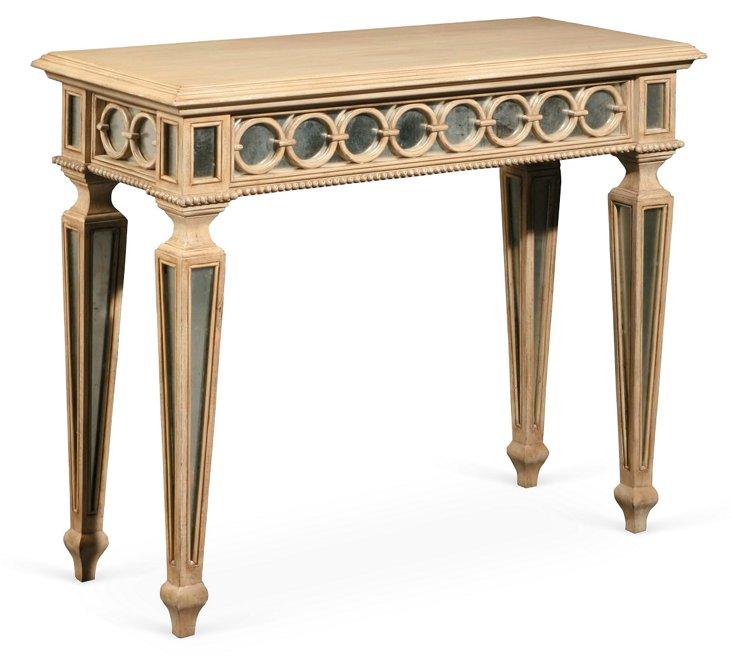 Louisa Eglomise Table