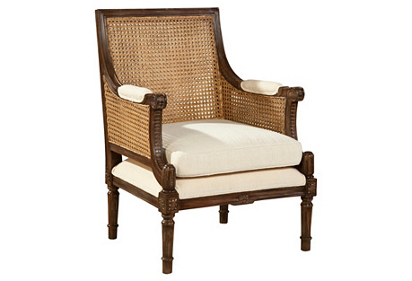 Clifton Armchair, Bisque