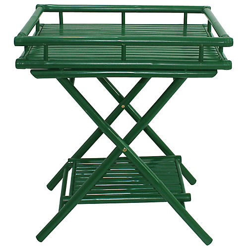 Trayta Side Table, Green