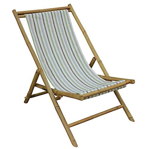 Beachboo Lounge Chair, Green/Multi