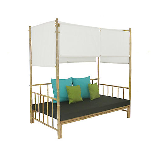 Bamboo Daybed, Charcoal
