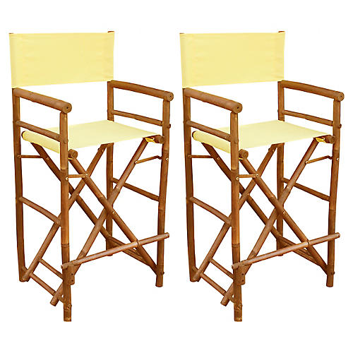 S/2 Director's Chairs, Nude
