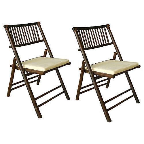 S/2 Champion Side Chairs, Espresso