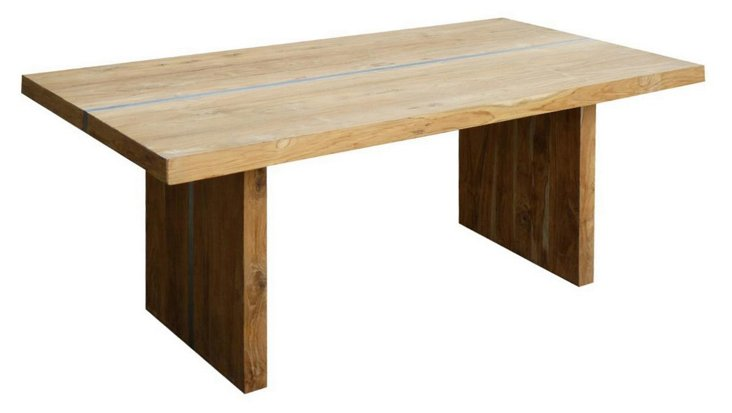 Plateau Trestle Dining Table