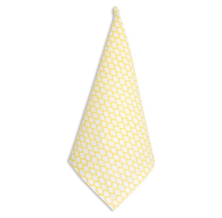 S/4 Scale Napkins, Yellow